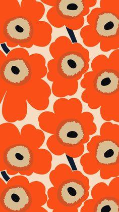 Marimekko Wallpaper, Minimal Wallpaper, Simple Aesthetic, Apple Wallpaper Iphone, Cute Wallpapers, Iphone Wallpapers, Mobile Wallpaper, Flower Power, Pattern Design
