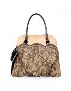 f022da2629ee  valentino lace   leather handbags... can t imagine how much     Designerhandbags. Fashion Ideas For Women · Designer handbags