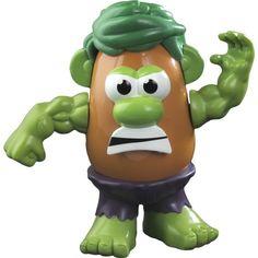 Parce que même Monsieur Patate il peut se fâcher tout vert !  sur http://lageekerie.com/monsieur-patate-hulk.html