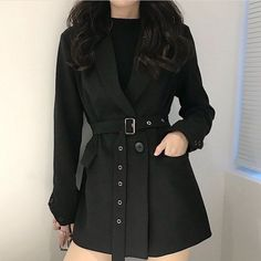 Egirl Fashion, Korean Girl Fashion, Kpop Fashion Outfits, Korean Street Fashion, Ulzzang Fashion, Edgy Outfits, Korean Outfits, Mode Outfits, Cute Casual Outfits