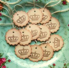 Crown Hang Tags