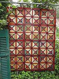 Country Threads :: All :: River Town Quilt Pattern Patchwork Quilt, Scrappy Quilts, Quilting Fabric, Machine Quilting, Log Cabin Quilts, Barn Quilts, Log Cabins, Primitive Quilts, Primitive Folk Art