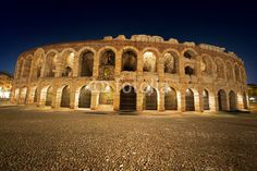 Arena di Verona by Night - Italy