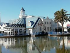 Port Elizabeth- the waterfront at the Boardwalk  in the Eastern Cape of South Africa