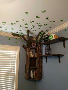 Beautiful tree bookshelf   Perfect for nursery.