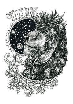 cosmic Leo Lion