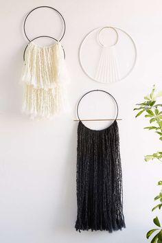 Sonadora Hemp Brass Hoop Wall Hanging - Urban Outfitters