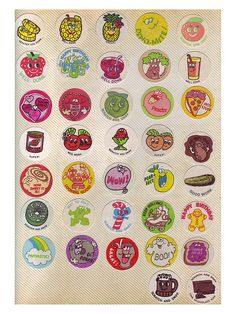 scratch  sniff stickers