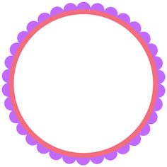 Scrapbook Frames, Scrapbook Borders, Circle Borders, Borders And Frames, Party Printables, Free Printables, Photo Boots, Butterfly Baby Shower, Candyland