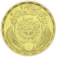 Egypt 1953 Gold Pound, GK Coins Ltd.