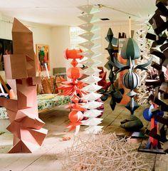 irving harper – elle decor, from book: irving harper - works in paper Paper Art, Paper Crafts, Paper Book, Cut Paper, Art Africain, Sculpture Art, Paper Sculptures, Abstract Sculpture, Paper Folding