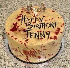 Walking Dead Birthday Cake