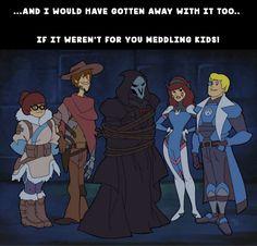 Overwatch meets Scooby-Doo http://ift.tt/2n54WYd