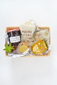 burkatron.: DIY | breakfast in a box gift idea