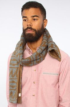 The Viejito Scarf in Dark Tan by Freshjive - 20% off with rep code SHANE20