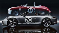 Porsche představilo sporťák 911 Speedster Concept k výročí 70 let