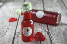Schnin's Kitchen: selbstgemachter Erdbeer-Sirup
