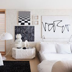 At Home with Kelly Wearstler - The Master Bedroom from #InStyle