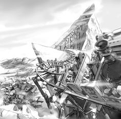Mike Sobey: Illustrator and Chicago Storyboard Artist.    Beginning of throwback thursday.   Expedition Everest!