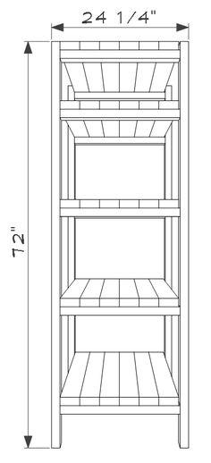 DIY 2x4 Storage Shelves - Free Plans - Construct101 Diy 2x4 Storage Shelves, Shed Shelving, Shed Storage, Built In Shelves, Office Storage, Garage Storage, Wall Bookshelves, Lean To Shed, Wall Shelves Design