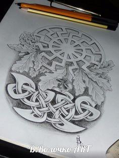 Славянские и скандинавские татуировки | эскизы