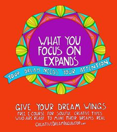 Give Your Dream Wings. Free 10 day e-course. Click to start today