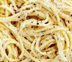 Cacio e Pepe ( Cheese & Pepper Pasta) a quick and easy recipe I found in New York Time Cooking by Mark Bittman.