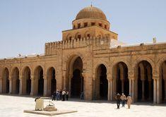 Mezquita de Kairuán, Túnez. Islamic Architecture, Taj Mahal, Building, Travel, Islamic Art, Viajes, Buildings, Destinations, Traveling