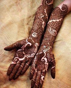 New Dulhan Mehndi Designs for Wedding