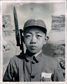 Chinese nationalist soldier during the civil war
