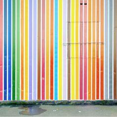 """From Matthias Heiderich's """"Colour Berlin' photograph series. Fantastic colour details."""