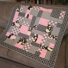 Pink and Black by meetmeinstlouis on Etsy, $55.00