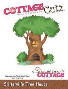 CottageCutz Critterville Tree House