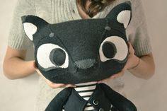 Black+Wolfy+by+MarieChou+on+Etsy,+$160.00