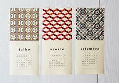 Calendário beija-flor 2015