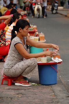Vendors in Ho Chi Minh City