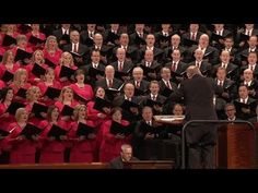 """The Mormon Tabernacle Choir sings, """"He Sent His Son. Mormon Tabernacle, Tabernacle Choir, Lds Music, Primary Music, Primary Program, Prayers For Children, General Conference, Teaching Kids, Jesus Christ"""