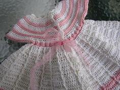VillaTuta: Virkattu vauvan mekko Baby Dress, Crochet Baby, Dresses, Fashion, Vestidos, Moda, Baby Boy Dress, Fashion Styles, Baby Dresses