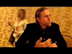 Interview With Charlie Hunnam from FX's Sons of Anarchy at Comic-Con 2012 - YouTube