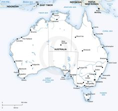 21 best maps of australia continent regions countries images on