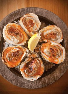 Grilled Oysters with Garlic-Chile Butter by Chef Donald Link • Louisiana Life • January/February 2013 • New Orleans, LA Oyster Recipes, Cajun Recipes, Seafood Recipes, Grilled Oysters, Grilled Seafood, Creole Cooking, Cajun Cooking, Cajun Food, Recipes