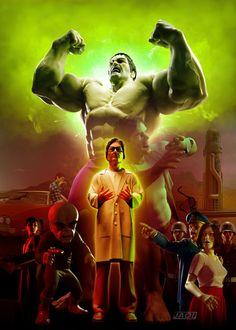 #Hulk #Fan #Art. (The Incredible Hulk) By:Artejaol. ÅWESOMENESS!!!™ ÅÅÅ+