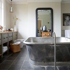 Beautiful #industrial #bathroom #design