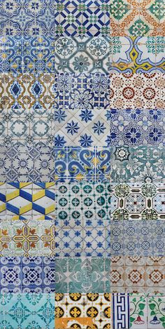 Azulejos from Portugal- Portuguese Tiles