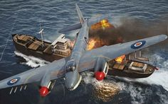 De Havilland Mosquito FB Mk VI Anti-Ship by Adam Tooby                                                                                                                                                                                 More