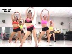 Video L, Aerobics Workout, Dance Class, Workout For Beginners, Zumba, Workout Videos, Bikini Girls, At Home Workouts, Cheer Skirts