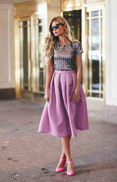 Blogger Inspiration: Full Fall Skirts / Ruche Blog