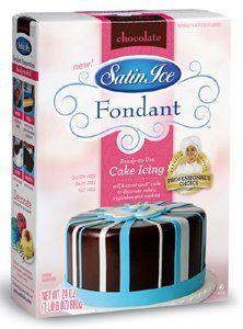 Satin Ice Vanilla Fondant White 2 lb | Decorations, Frosting ...