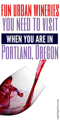 Boozy Christmas Drinks 7 Urban Wineries You Need to Visit in Portland, Oregon Sangria Party, Wine Cocktails, Cocktail Recipes, Portland Oregon, Travel Portland, Wine Case, Christmas Drinks, Wineries, Wine Tasting