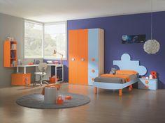 Camerette volpi ~ Kidsroom #childrenroom #designideas #furniture #kids #children